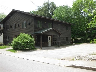 Ray Brook, Saranac Lake Commercial For Sale: 91 Woodruff St