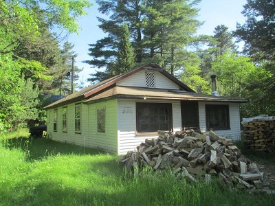 Lake Clear NY Single Family Home For Sale: $29,000