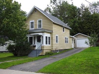 Tupper Lake NY Single Family Home For Sale: $85,000