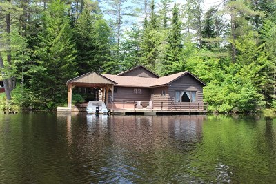 Rainbow Lake NY Single Family Home For Sale: $325,000