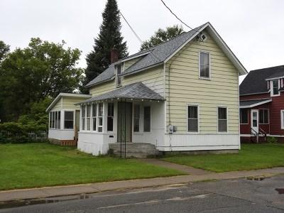 Tupper Lake NY Single Family Home For Sale: $74,900