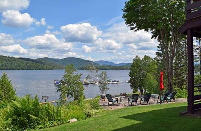 Elizabethtown, Jay, Keene, Keene Valley, Lake Placid, Saranac Lake, Westport, Wilmington, Loon Lake, Rainbow Lake, Tupper Lake Condo/Townhouse For Sale: 331 Whiteface Inn Road Lakeside Condo #1