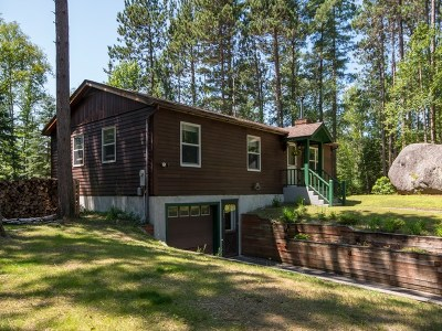 Saranac Lake Single Family Home For Sale: 495 McKenzie Pond Rd