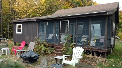 Elizabethtown, Jay, Keene, Keene Valley, Lake Placid, Saranac Lake, Westport, Wilmington, Loon Lake, Rainbow Lake, Tupper Lake Single Family Home For Sale: 3444 County Route 26