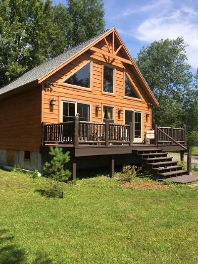 Lake Placid, Saranac Lake, Tupper Lake Single Family Home For Sale: 59 River Rd