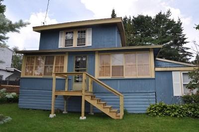 Lake Placid NY Single Family Home For Sale: $175,000