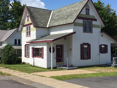 Elizabethtown, Jay, Keene, Keene Valley, Lake Placid, Saranac Lake, Westport, Wilmington, Loon Lake, Rainbow Lake, Tupper Lake Single Family Home For Sale: 42 High St