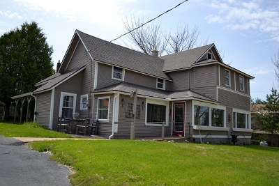 Saranac Lake NY Multi Family Home For Sale: $279,000