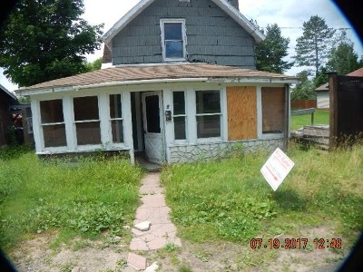 Tupper Lake NY Single Family Home For Sale: $16,100