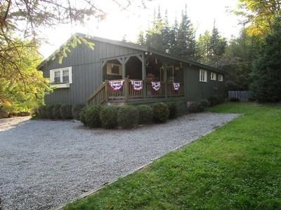Single Family Home For Sale: 337 Adirondack Lake Road