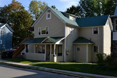 Saranac Lake NY Multi Family Home For Sale: $165,000