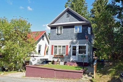 Saranac Lake NY Single Family Home For Sale: $79,900