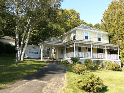 Elizabethtown, Jay, Keene, Keene Valley, Lake Placid, Saranac Lake, Westport, Wilmington, Loon Lake, Rainbow Lake, Tupper Lake Single Family Home For Sale: 6395 Main St
