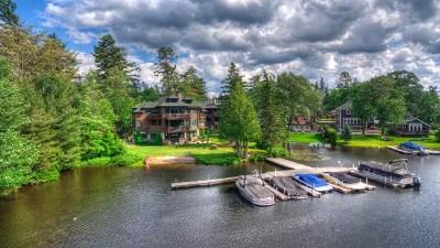 Lake Placid, Saranac Lake, Tupper Lake Condo/Townhouse For Sale: 2221 Saranac Avenue (Edge Of The Lake