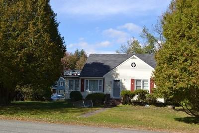 Saranac Lake NY Single Family Home For Sale: $159,900