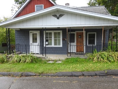 Tupper Lake NY Single Family Home For Sale: $39,900