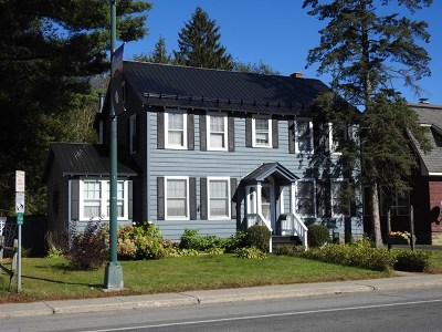 Elizabethtown, Jay, Keene, Keene Valley, Lake Placid, Saranac Lake, Westport, Wilmington, Loon Lake, Rainbow Lake, Tupper Lake Single Family Home For Sale: 180 Demars Blvd.