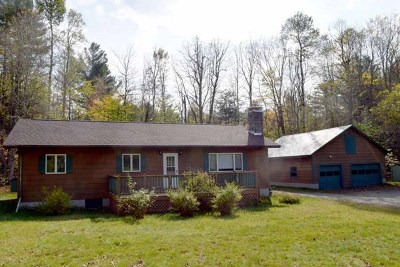 Keene Single Family Home For Sale: 1267 Hurricane Road
