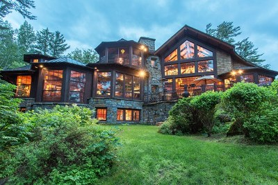 Lake Placid NY Single Family Home For Sale: $9,200,000