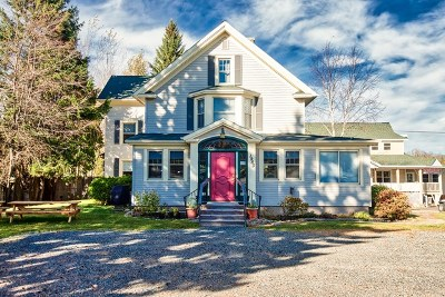 Lake Placid NY Single Family Home For Sale: $875,000