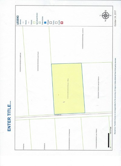 Franklin County Residential Lots & Land For Sale: St Mary Road