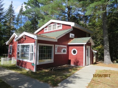 Rainbow Lake NY Single Family Home For Sale: $159,000