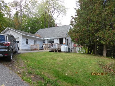 Harrietstown NY Single Family Home For Sale: $109,000