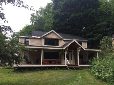 Saranac Lake NY Multi Family Home For Sale: $125,000