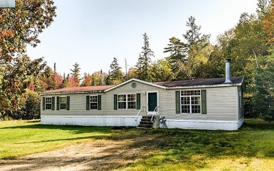 Saranac Lake NY Single Family Home For Sale: $125,000