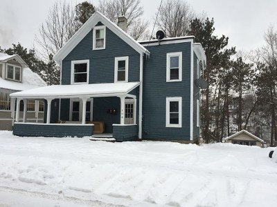 Saranac Lake NY Single Family Home For Sale: $139,000