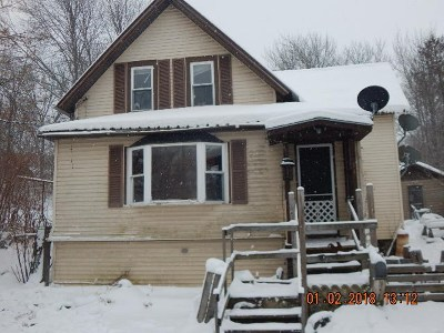 Tupper Lake NY Single Family Home For Sale: $19,900