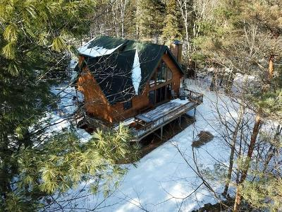Elizabethtown, Jay, Keene, Keene Valley, Lake Placid, Westport, Wilmington, Loon Lake, Rainbow Lake, Saranac Lake, Tupper Lake Single Family Home For Sale: 26 Deep Woods Lane