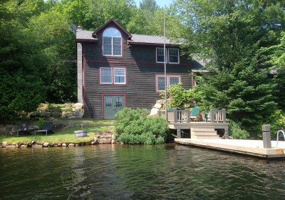Bloomingdale, Lake Placid, North Elba, Ray Brook, St Armand, Brighton, Franklin, Gabriels, Harrietstown, Lake Clear, Lake Titus, Loon Lake, Onchiota, Paul Smiths, Rainbow Lake, Santa Clara, Saranac Inn, Saranac Lake, Upper Saranac Lake, Vermontville Single Family Home For Sale: 1414 Kushaqua Mud Pond Rd