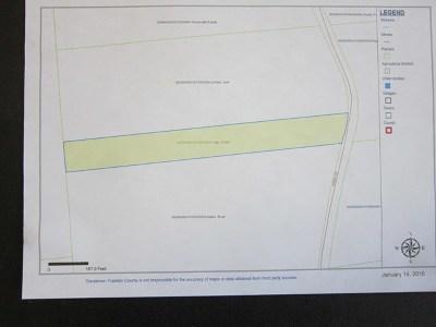 Franklin County Residential Lots & Land For Sale: Kibbie Road