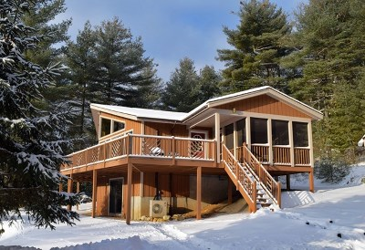 Elizabethtown, Jay, Keene, Keene Valley, Lake Placid, Westport, Wilmington, Loon Lake, Rainbow Lake, Saranac Lake, Tupper Lake Single Family Home For Sale: 279 Hazen Road