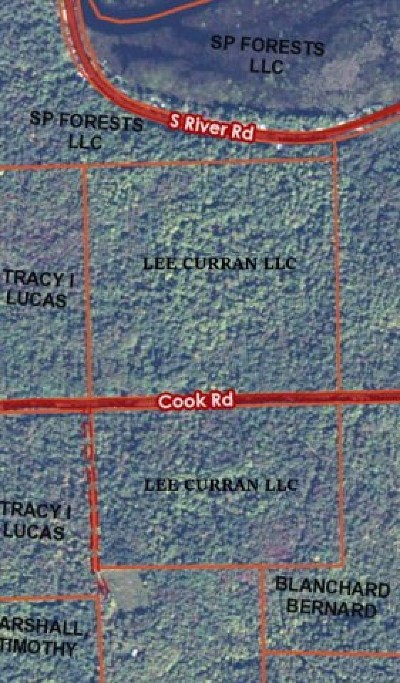 Franklin County Residential Lots & Land For Sale: . Cook Road