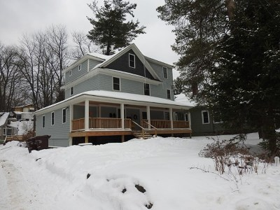 Saranac Lake NY Multi Family Home For Sale: $270,000