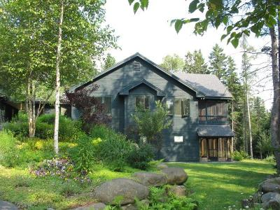 Single Family Home For Sale: 326 Adirondack Lake Rd