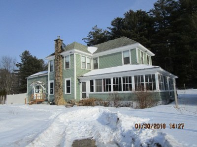 Single Family Home For Sale: 273 State Route 86
