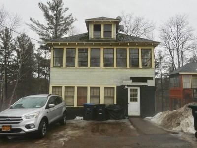 Saranac Lake NY Multi Family Home For Sale: $100,000