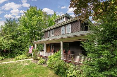 Lake Placid Single Family Home For Sale: 50 Hillcrest Avenue