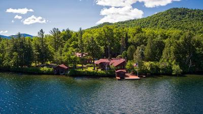Lake Placid NY Single Family Home For Sale: $3,695,000