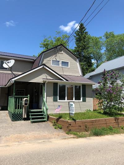 Saranac Lake NY Single Family Home For Sale: $165,000