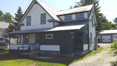Essex County, Franklin County Multi Family Home For Sale: 8610 Us Route 9