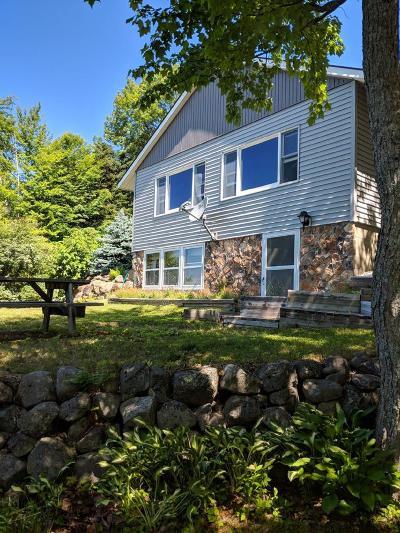 Single Family Home For Sale: 479 Adirondack Lake Road