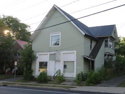 Essex County, Franklin County Commercial For Sale: 2505 Chateaugay Street