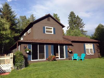 Elizabethtown, Jay, Keene, Keene Valley, Lake Placid, Westport, Wilmington, Loon Lake, Rainbow Lake, Saranac Lake, Tupper Lake Single Family Home For Sale: 346 Old Military Road