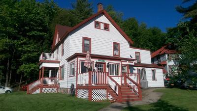 Saranac Lake NY Multi Family Home For Sale: $162,500