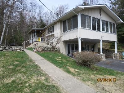 Saranac Lake Single Family Home For Sale: 879 Fletcher Farm Rd.