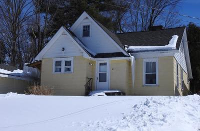 Elizabethtown, Jay, Keene, Keene Valley, Lake Placid, Saranac Lake, Westport, Wilmington, Loon Lake, Rainbow Lake, Tupper Lake Single Family Home For Sale: 12 Lake St
